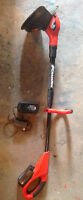 cordless coupe bordure Black & Decker weed eater trimmer