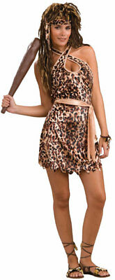 Cave Beauty Cave Woman Tarzan Jane Leopard Halloween Adult Costume Standard Size - Tarzan Halloween