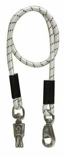 """Pair of (2) 49"""" Bungee Bungie Cross Tie Horse Trailer Quick Release Panic Snap"""