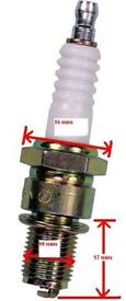 Scooter/Pitbike/Quad - C7HSA Spark Plug - NEW 50 - 150 cc