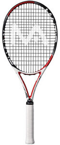 MANTIS 265 MP 100 TENNIS RACQUET ,4 3/8 ,STRUNG ,USED LIGHTLY