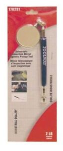 TELESCOPING MAGNETIC PICK UP TOOL WITH MIRROR