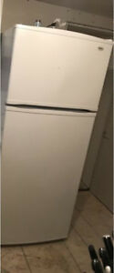 """Apartment style fridge and stove 24"""""""