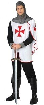 elalterlich Tempelritter Ritter Halloween Kostüm Kleid (Tempel Halloween)