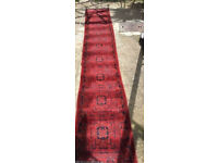 Excellent Condition 4 Metre Handmade Afghani Rug