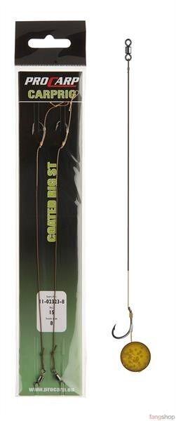 Cormoran Pro Carp Coated Rig ST ummanteltes Vorfach Karpfenvorfach Hairrig Haar