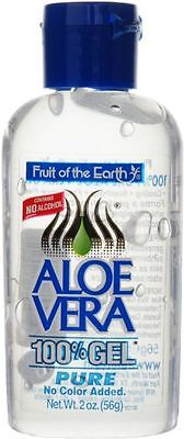 FRUIT OF THE EARTH ALOE VERA 100% GEL NO ALCOHOL - 56G