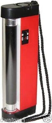 Super UV Lamp: Portable Ultraviolet Long Wave Light, detect philatelic tagging