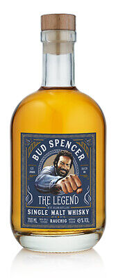 Bud Spencer - The Legend Rauchig Whisky by St. Kilian Distillers 0,7l 49%vol.