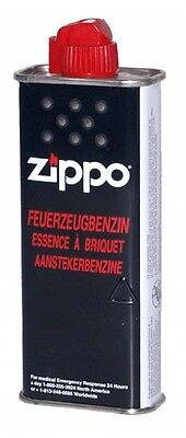 4x Original Zippo Benzin 125ml für Zippo Feuerzeuge ORIGINAL Feuerzeugbenzin