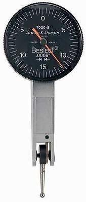 Brown Sharpe Bestest 599-7030-5 .0005 .030 Dial Test Indicator - Brand New