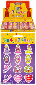 PACKS OF STICKERS PARTY BAG FILLERS 5, 10, 15 & 20