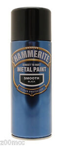 Hammerite-Smooth-Metal-Paint-400ml-Spray-ALL-COLOURS