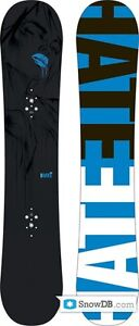 Burton Hate Snowboard - BOARD ONLY - 152