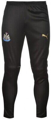 Puma Newcastle United Mens Football Training Pants Black NUFC Trousers