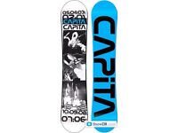 Capita stairmaster snowboard. 156 freestyle board