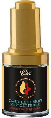 VCee Nourishing Overnight Skin Concentrate Treatment Rejuvenating Rose 30ml