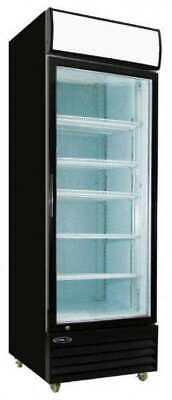 23.0cf Commercial 1-glass Door Refrigerator Display Cooler Merchandiser New