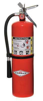 "Fire Extinguisher, 4A:80B:C, Dry Chemical, 10 lb., 20""H AMEREX B456"