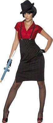 Kostüm Kostüm Frau Gangster mafia Retro Jahre 20 sexy