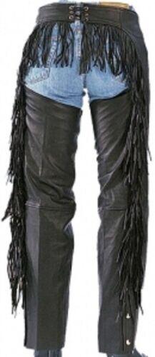 733 Ladies Butt Fringe Leather Chaps