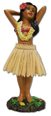 Hawaiian Dashboard Hula Girl Dancer Mini Doll Hawaii Aloha Islands Souvenirs NIB