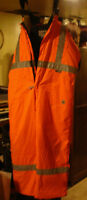 WORKKING Construction Winter overalls work king worn once 2XL