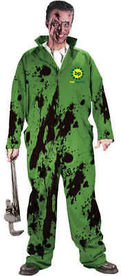 Mens Adult BP Bad Planning Oil Spill Stained Costume