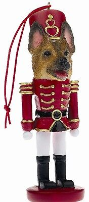 GERMAN SHEPHERD  ~ NUTCRACKER   SOLDIER DOG ORNAMENT #75