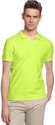 New Calvin Klein Pique Slim Fit Polo Shirt Men