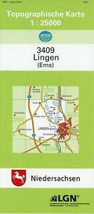 * LINGEN (EMS) 1 : 25 000. (TK 3409/N)