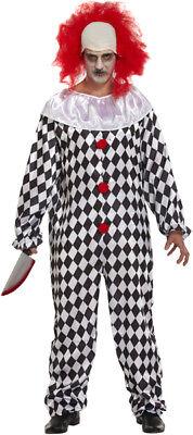 Unheimlich Clown Kostüm & Perücke - Halloween Kostüm - Pennywise Clown Perücke