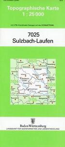 SULZBACH-LAUFEN 1 : 25 000