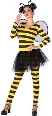 für Erwachsene XS/S 36/38 Kuscheltier Maja Cartoon Film Neu (Biene Kostüme Für Erwachsene)