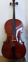 Brand new cello, selling by music teacher at lowest price