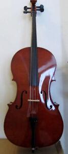 Brand new: Cello & cello hard case (sold separately)-low price