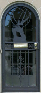 Wrought Iron Storm Doors & Wrought Iron Fences London Ontario image 2