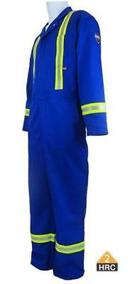 Brand New  Insultech Fr Fire Retardant Reflective Coveralls Hrc 2  Royal Blue