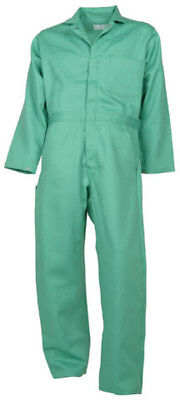 Visual Green Flame Resistant Coverall-probanfr-7a-new-some Made In The Usa