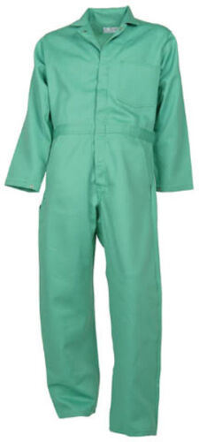 Visual Green Flame Resistant Coverall (Proban®/FR-7A®)-NEW-some made in the USA
