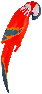Inflatable Blow Up Parrot Fancy Dress Accessory Pirate Hawaiian 48CM