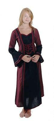Mittelalter Kinderkleid Kostüm Burgjungfernkleid mittelalterliche Maid Bäres (Mittelalterliche Maid Kostüme)