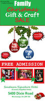 VENDORS/CRAFTERS WANTED!! Family Christmas Event Mississauga