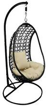 Hanging Chair with cushion also known as Egg or Cocoon Chair Beenleigh Logan Area Preview