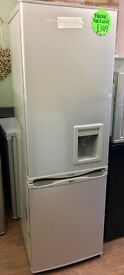 BRAND NEW FRIDGE FREEZER IN SILVER WITH WATER DISPENSER BARGAIN !!!