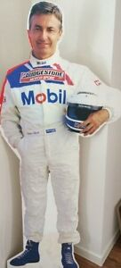 Peter Brock cardboard cutout Carina Brisbane South East Preview