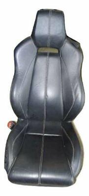 08 ASTON MARTIN VANTAGE V8 ROADSTER DRIVER SEAT LEATHER BLACK SILVER STITCHING