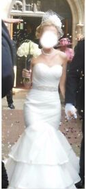 Wedding Dress Size 10 - excellent 'as new' condition