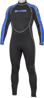Bare Velocity 3mm Full Wetsuit - New - Scuba diving