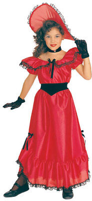 Scarlett O'hara Gown Peach Southern Belle Dress Victorian - Saloon Girl Costume  (Girls Southern Belle Dresses)